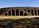 Pompeii travel - Pompeii: exterior view of the amphitheater