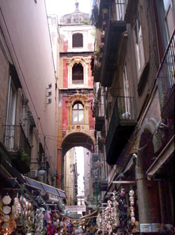 Naples Spaccanapoli tour - The well-known street of the nativity scenes: San Gregorio Armeno