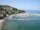 A panoramic view of Agropoli