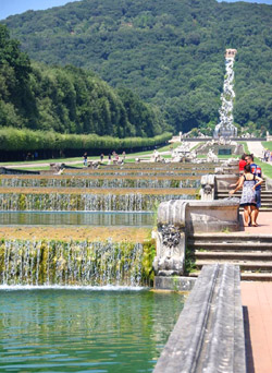 Caserta Palace - Particular of the park of the Royal Palace of Caserta