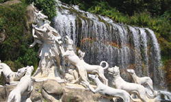 Caserta Palace - The famous fountain of Diana and Atteone