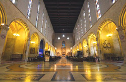 Churches of Naples Italy - The Monastery at Santa Chiara