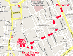 Churches of Naples Italy - Itinerary of this guided visit of Naples