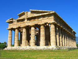 Paestum Temples - The Temple of Neptune at Paestum